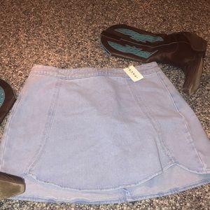 Pacsun Jean skirt NWT Size 27